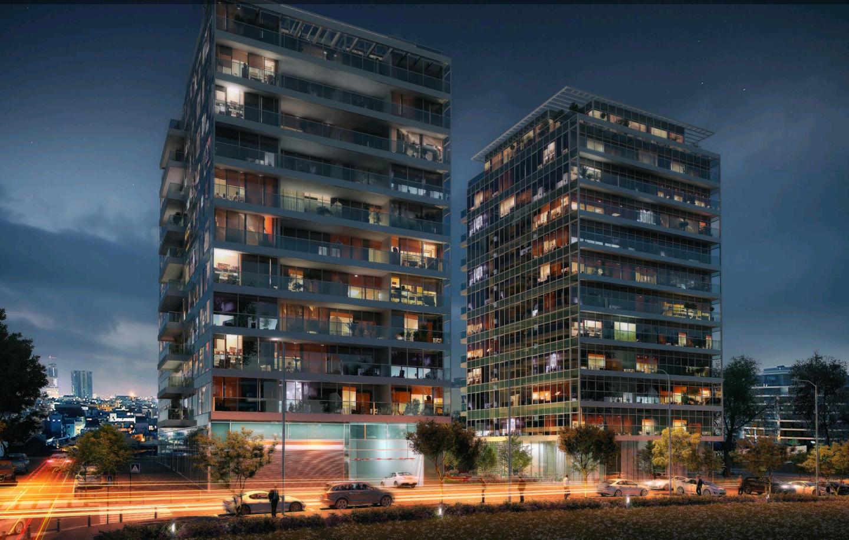 Très beau Projet sur Tel Aviv